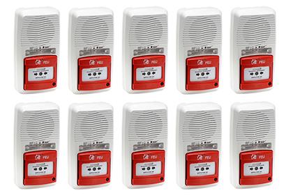 Kit 10 alarmes type 4 à pile