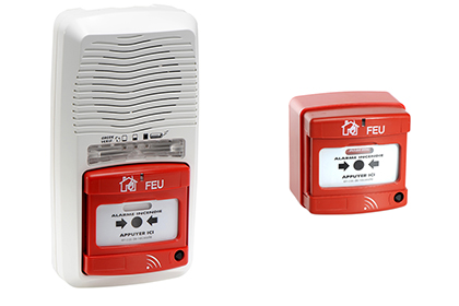 Alarme type 4 radio + 1 déclencheur