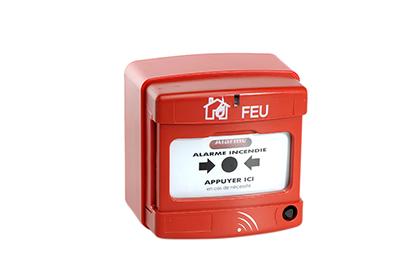 Déclencheur manuel incendie rouge Radio