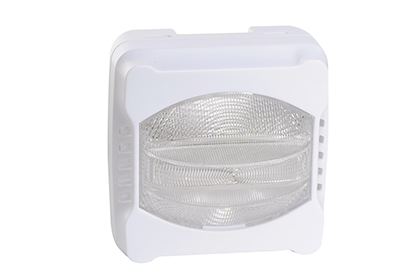 Diffuseur lumineux avec flash blanc