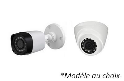 Kit Video HD-CVI 8 caméras 2 Mégapixels [KAM-KIT-8INCLUS-2MP-CVI]