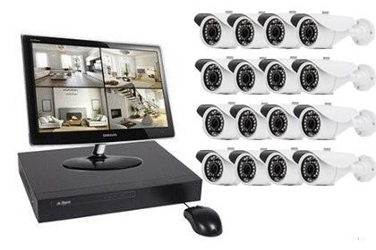 Kit Vidéo Start 16 caméras 1 Mégapixel