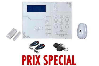 Kit  alarme sans fil GSM + IP