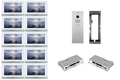 Kit interphone IP 10 appartements