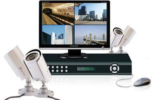 Kit Vidéo Start 4 caméras - Complet & Economique ! : Kit prêt à installer Vidéo surveillance