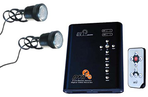 kit enregistreur pour 2 cam ras. Black Bedroom Furniture Sets. Home Design Ideas
