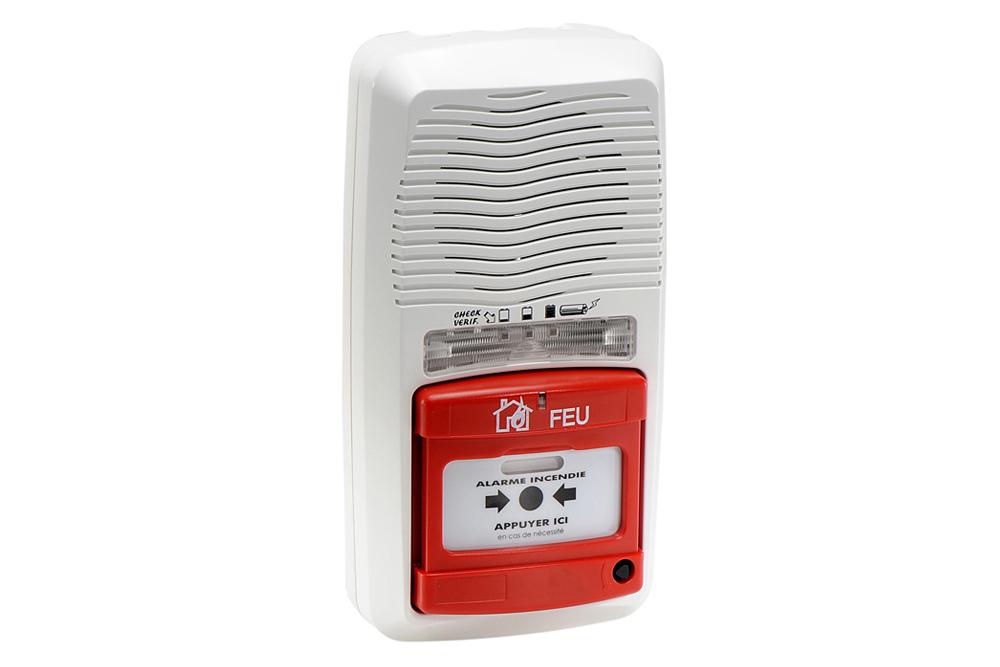 alarme incendie de type 4 radio ax11201b. Black Bedroom Furniture Sets. Home Design Ideas