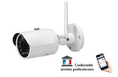 Caméra IP Wifi 3 Mégapixels