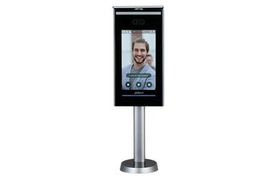 Terminal mesure corporelle et reconnaissance faciale avec support