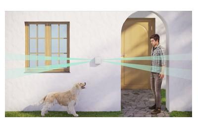 Détecteur de mouvements double extérieur type rideau sans fil [AJAX_DETECT-DOUBLE-RIDEAU-EXT]