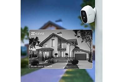 Kit vidéo 4 caméras Wifi 4 panneaux solaires et station de base EZVIZ [KIT.EZVIZ_4SOLAR-4C3A-W2D]