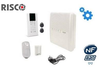 Kit alarme sans fil  RTC/IP RISCO