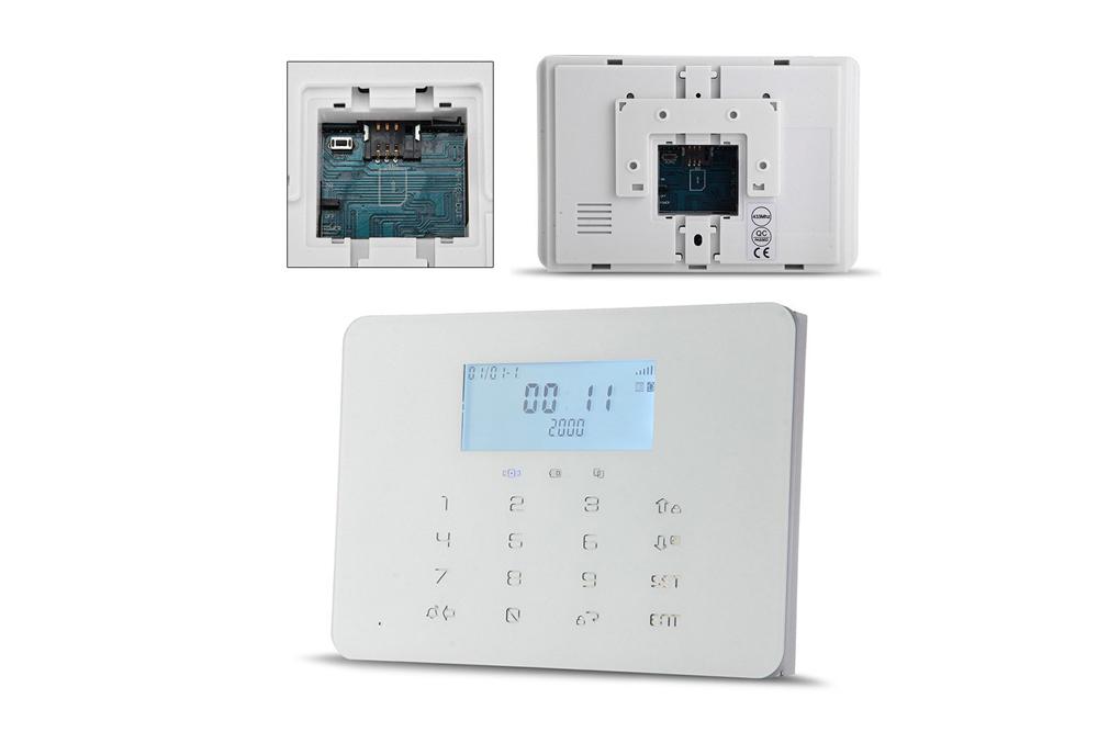 kit alarme sans fil kaleo gsm rtc kl x200. Black Bedroom Furniture Sets. Home Design Ideas