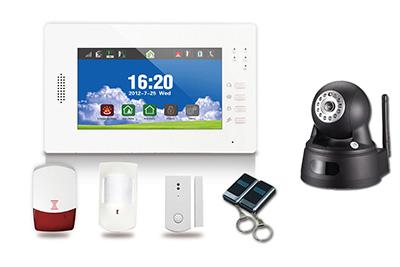 Kit alarme sans fil KALEO GSM + RTC