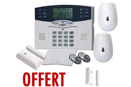 Kit alarme sans fil RTC