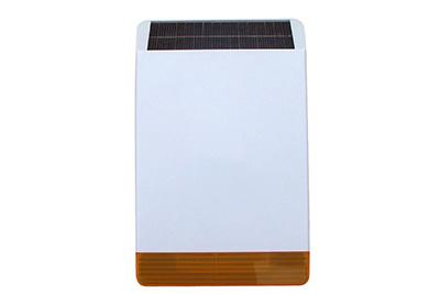 Sirène extérieure solaire sans fil