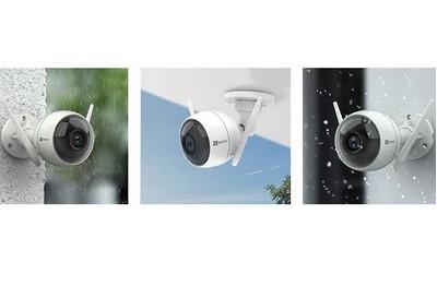 Les différentes options des caméras extérieures :