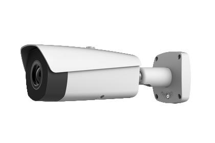 Caméra thermique IP/Analogique/HDCVI PoE Distance focale 13 mm