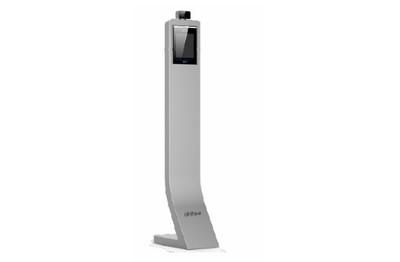 Terminal mesure corporelle et reconnaissance faciale avec piédestal