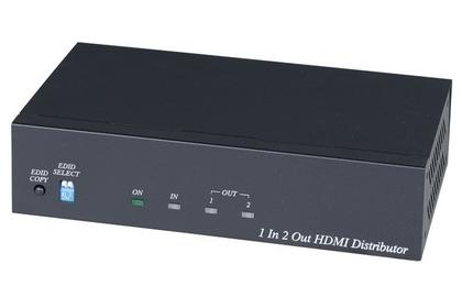 Amplificateur - distributeur HDMI 1 entrée / 2 sorties