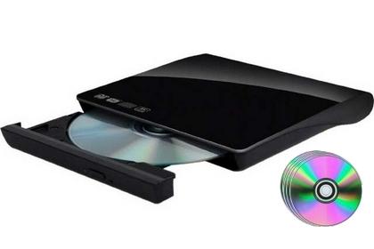 Graveur DVD externe et ses 10 DVD