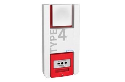 Alarme Type 4 à piles avec relais