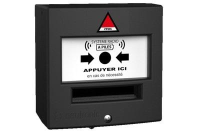 Déclencheur manuel radio étanche pour PPMS