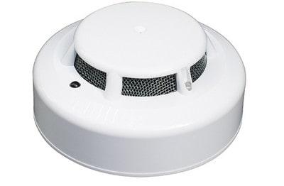 Détecteur optique de fumée avec relais