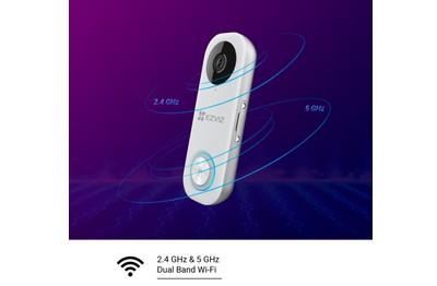 Sonnette vidéo IP Wifi 2 Mégapixels EZVIZ [EZVIZ.WIFI_DB1C]