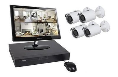 Kit Video Pro IP 4 caméras 3 Mégapixels