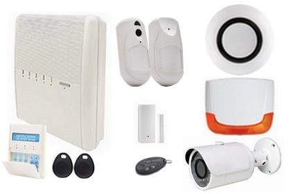 Kit alarme sans fil IP GSM avec caméra