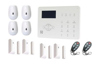 Kit alarme sans fil 4 à 6 pièces