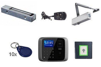 Kit contrôle d'accès Autonome biométrique 1 porte [KIT1AED]