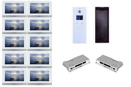 Kit interphone IP 10 appartements