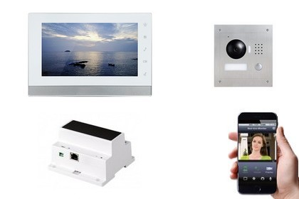 Interphone IP 2 fils - Vision smartphone