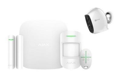 Kit alarme sans fil GPRS/IP avec caméra