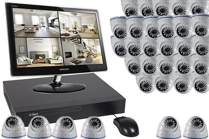 Fonctionnement et installation des kits 16-48 caméras :