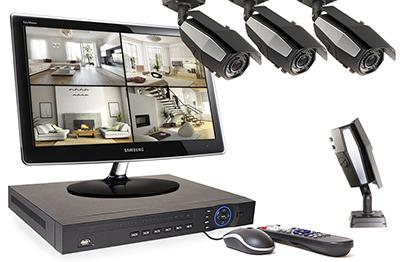 Fonctionnement et installation du kit 4 caméras :<br />