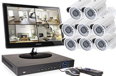 Objectifs et avantages du kit 8 caméras :