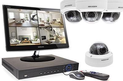 Le kit caméras IP :