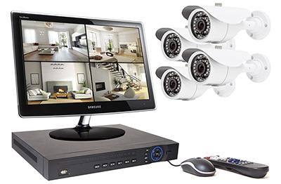 Kit vidéosurveillance 4 caméras :