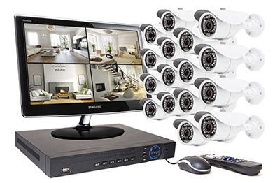 kits de vid osurveillance 16 cam ras acheter en ligne. Black Bedroom Furniture Sets. Home Design Ideas