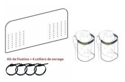Kit complet protection taxi / VTC