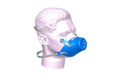 Masque silicone réutilisable à filtre jetable