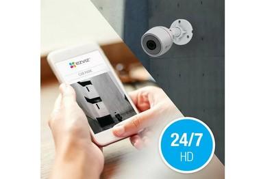 Kit vidéo IP 4 caméras 2 Mégapixels EZVIZ [EZVIZ.IP_PACK-X5S-PoE C3T-PoE_4]