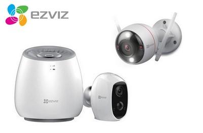 Kit vidéo 2 caméras Wifi 2 Mégapixels EZVIZ