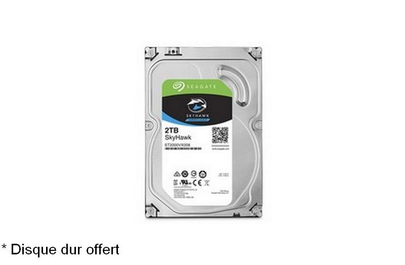 Kit Video Pro HD-CVI 8 caméras 4 Mégapixels [KAM-KIT-8LEA-4MP-CVI]