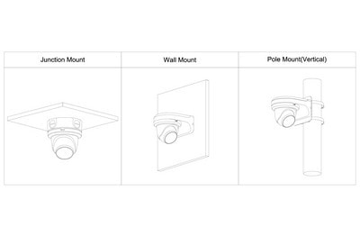 Mini dôme infrarouge IP 2 Mégapixels [DAHUA.IP_HDW3241TM-AS(2.8mm)]
