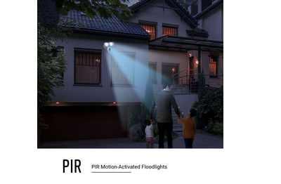 Caméra lampe de sécurité intelligente 2 Mégapixels EZVIZ [EZVIZ.WIFI_LC1C(blanc)]