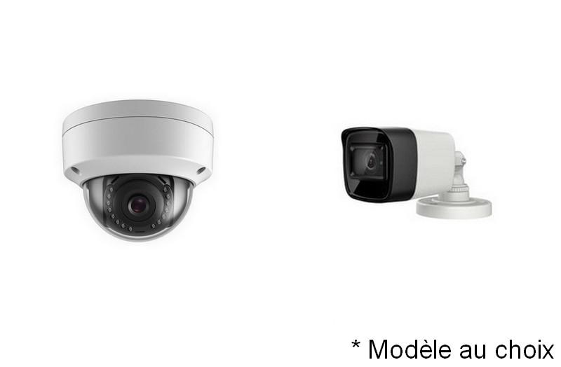 Kit Vidéo Eco IP 4 caméras 2 Mégapixels [KAM-KIT-ECO-4CAM-IP]